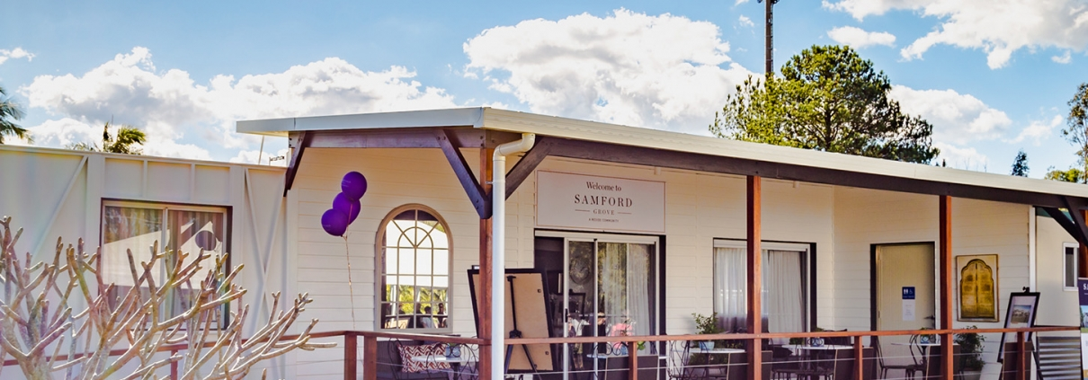 Samford Grove Retirement Village - Temporary community centre