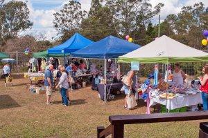 Samford Grove Retirement Village - Spring Fete - stalls2
