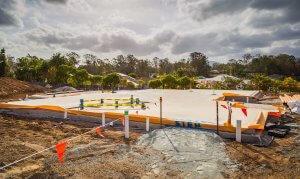 Samford Grove Retirement Village - First Slab