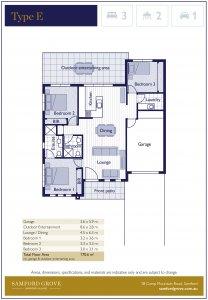 SG Type E floor plan