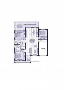 Type D Floor plan